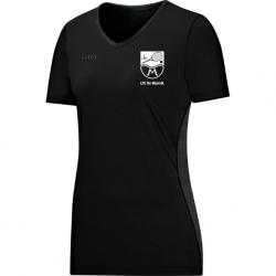 T-Shirt Move Zwart - Dames