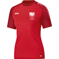 T-Shirt Champ Rood - Dames