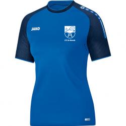 T-Shirt Champ Blauw - Dames